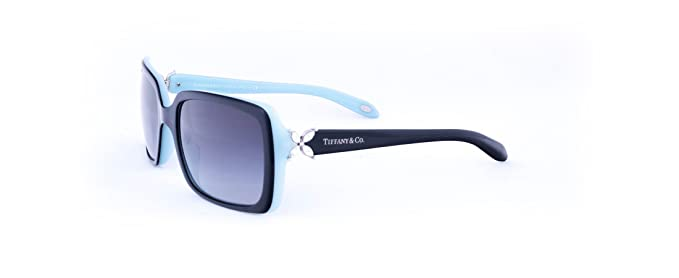 Amazon.com: Tiffany 4047b Womens rectángulo negro anteojos ...
