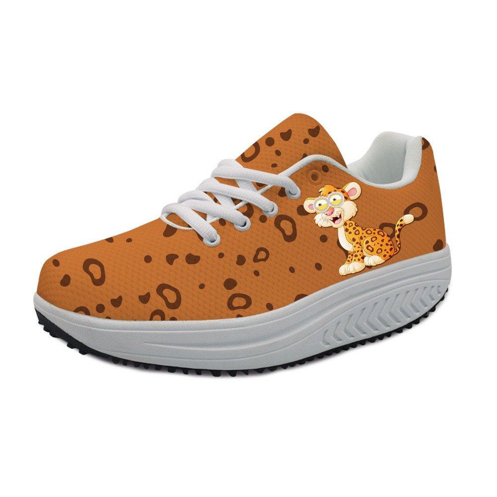 21ad59a33ebe8 Amazon.com | Bigcardesigns Fashion Animal Cat Sneakers Women Wedge ...
