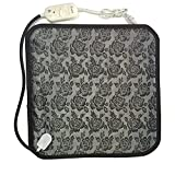 OLizee Pet Heating Bed Electric Heating Pad for Dogs Cats Warming Dog Beds Pet Mat (Flower)
