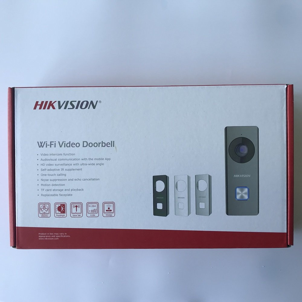 HIKVISION WIFI Doorphone Doorbell Kit DS-KB6403-WIP 2MP TF-card slot … by Hikvision (Image #5)
