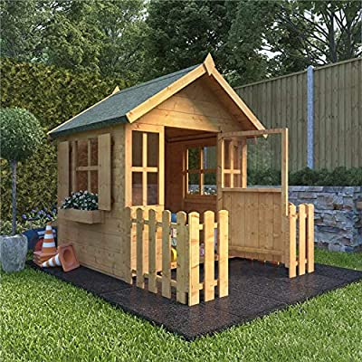 BillyOh 4x4 Bunny Max Playhouse with Picket Fence