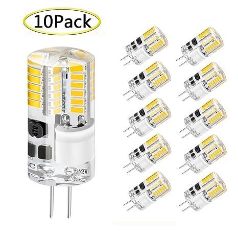 Bombillas LED G4, WXY 3W 48 x 3014 SMD Reemplace la bombilla de halógeno equivalente