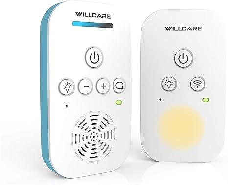 Willcare DBM-6 Vigilabeb/és con tecnolog/ía 2.4 G y funci/ón de interfono luz nocturna