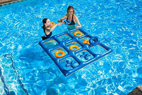 61mKjVFTLrL - Poolmaster Tic Tac Toe Game