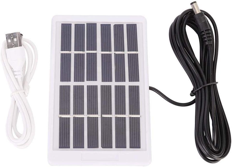 Vikye Intelligentes Bew/ässerungssystem with Solar Panel Intelligentes Solar Tropfbew/ässerungssystem Automatischer Selbst Bew/ässerungsuhr USB Aufladung
