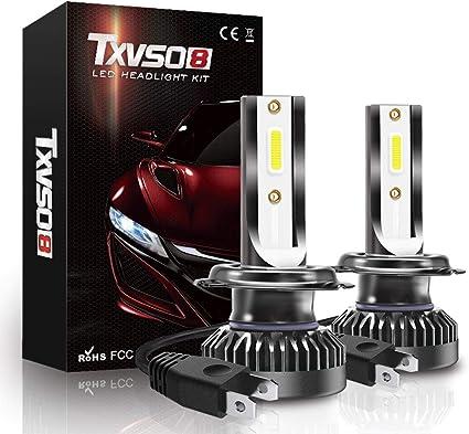 2X Mini 110W H7 LED Ampoule Voiture Feux Phare Lampe Remplacer HID Xénon 6000K