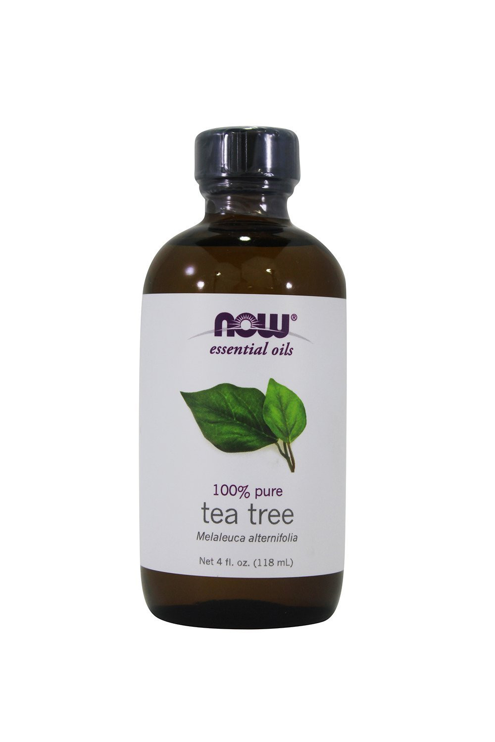 Now Foods, Essential Oil Tea Tree, 4 Ounce (2 Pack)