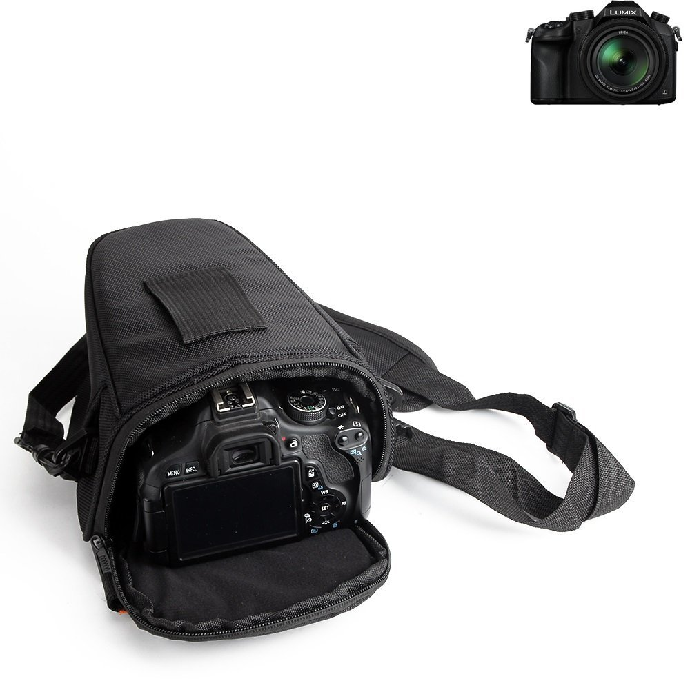 KS-Trade para Panasonic Lumix DMC-FZ1000: Bolsa per Camera DSLR/SLR/DSLM/Bridge Impermeable Anti-Choque Case con Cubierta de Lluvia Caja de protección ...