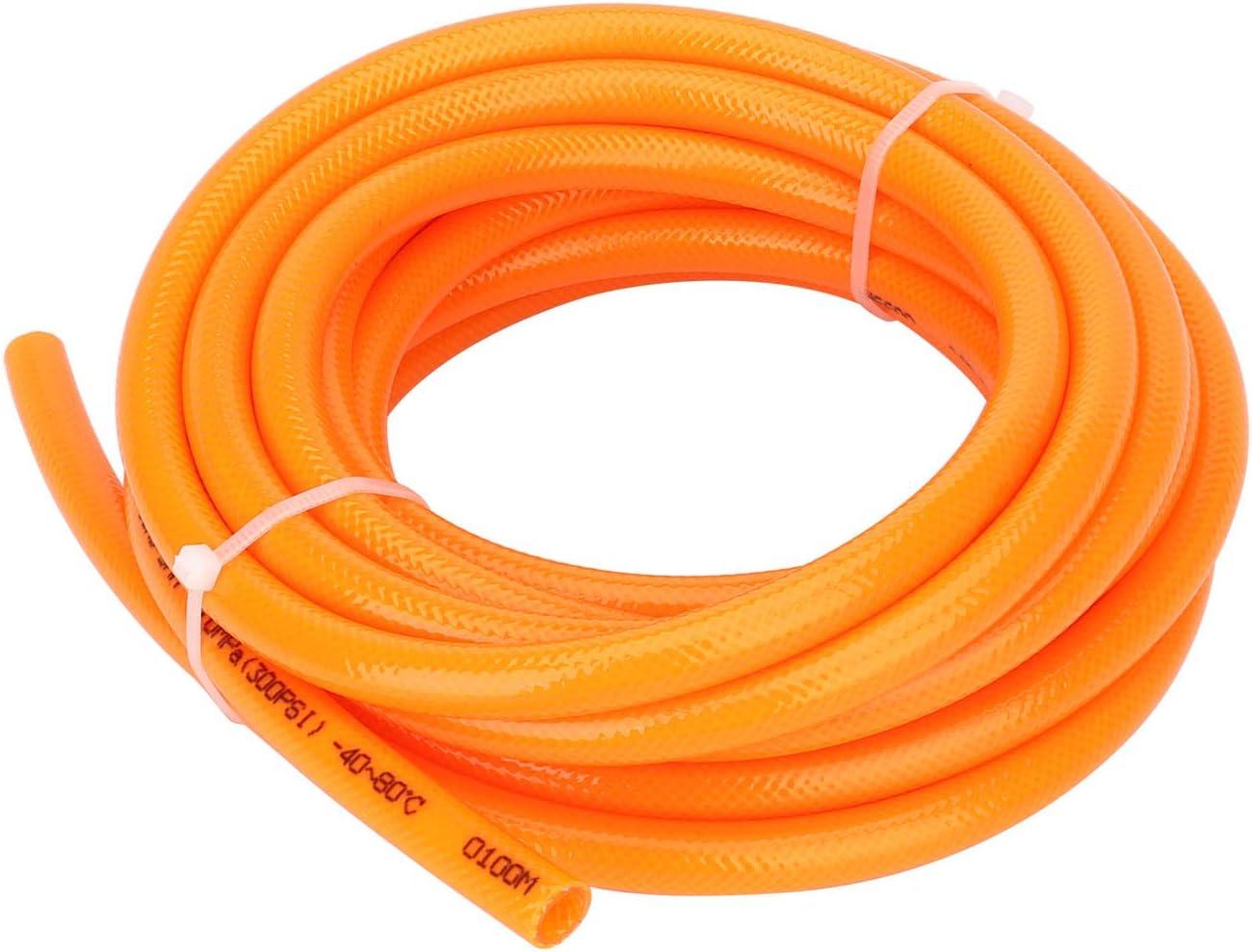 Dia 5mm//8mm Resist High-Temperature Abrasion Extra Pressure Length 10m Surprecision PU Plastic Air Hose Tube 32.8ft