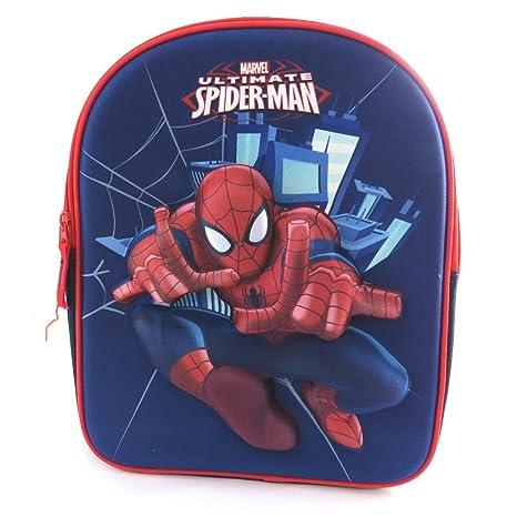 3d mochila Spidermanazul rojo (31x25x12 ...