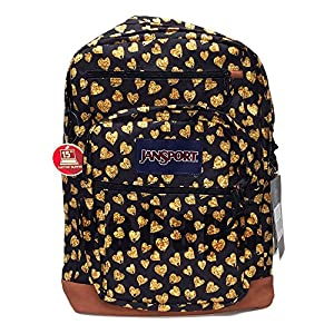 Jansport Cool Student Glitter hearts
