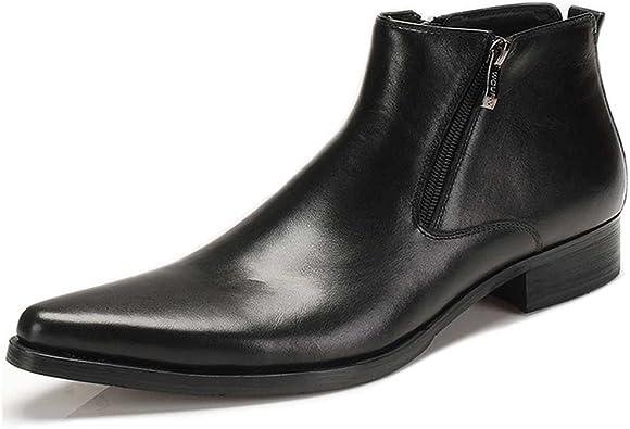 Fulinken Genuine Leather Pointed Toe