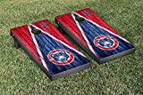 South Bend Cubs MiLB Regulation Cornhole Game Set Weathered Triangle Version