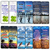Creanoso Friendship Quotes Bookmarks Cards (60-Pack) - Friendship Gifts for Men Women Kids Boys Girls Best Friend - Great Stocking Stuffers Wall Decor