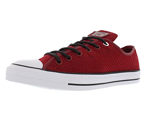 15b24ed60faa Image Unavailable. Image not available for. Color  Converse Unisex Chuck  Taylor All Star Ox Back Alley Burgundy Basketball Shoe ...