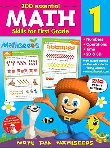 Math for 1st Grade - 200 Essential Math Skills (Mathseeds)