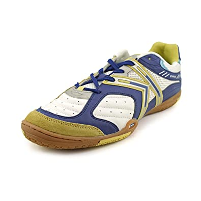 07dcc4ab0 KELME Michelin Star360 Indoor Soccer Shoes White Royal