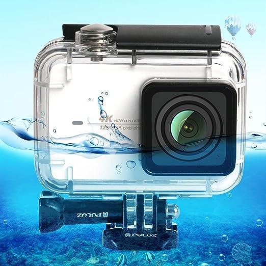 NO BRAND Carcasa cámara Resistente al Agua Estuche de Buceo Camera ...