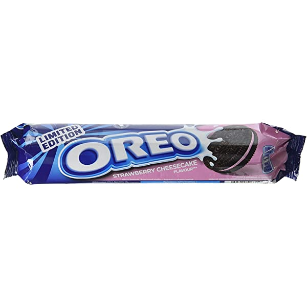 New Oreo Limited Edition Strawberry Cheesecake Flavour sabor a ...