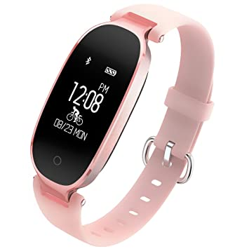 {Cadeau Saint-Valentin}Montre Connectée Femme TECKEPIC Bracelet Intelligent Etranche IP67 Montre Bluetooth