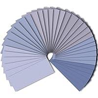 48 Stuks 120 tot 7000 Diverse Grit Schuurpapier, Nat en Droog Schuurpapier Blad 9 * 3,6 inch, Gebruikt voor Houten…