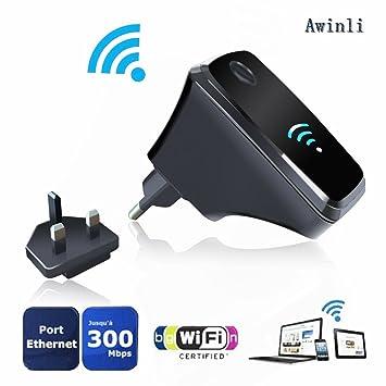 Wifi Router Repetidor Inalámbrico Amplificador De Largo Alcance Amplificador Wireless-N Mini AP Punto De