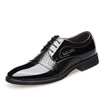 CAI Zapatos de Cuero Ocasionales para Hombres 2018 Primavera/Verano/Otoño Zapatos de Vestir