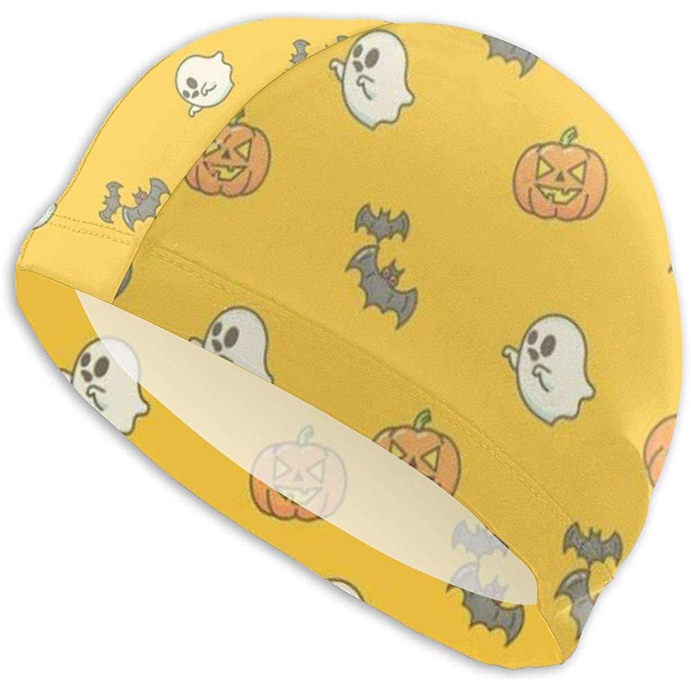 Frederih Calabazas de Halloween y Gorros de natación para Adultos ...