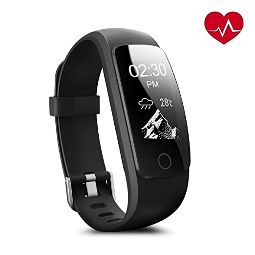 163 opinioni per Braccialetto Fitness,Drillpro ID107Plus HR cardiofrequenzimetro Fitness Tracker,