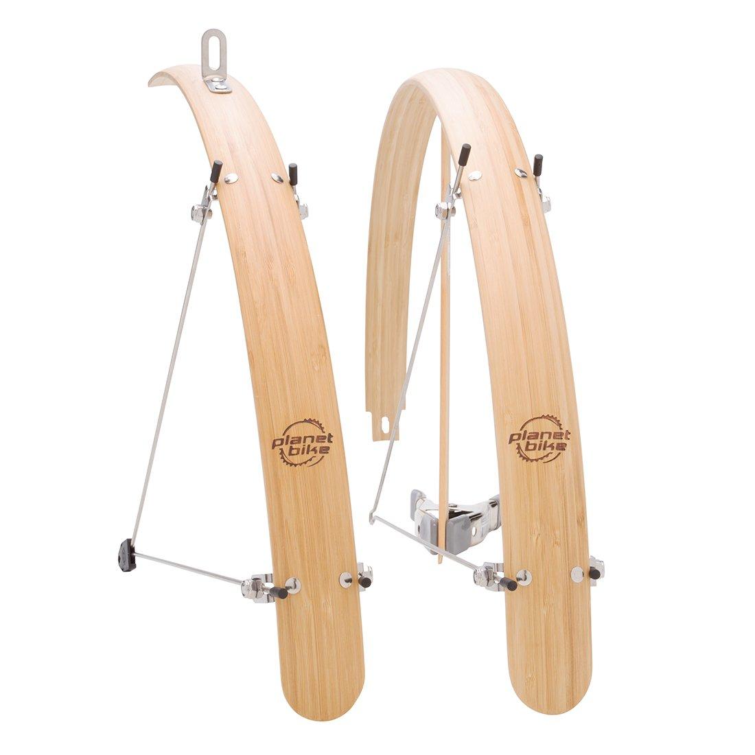 Planet Bike Hybrid Grasshopper Bamboo Fenders, 45mm