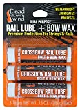 Hunting Crossbow - Dead Down Wind Rail Lube/Bow Wax (3pack)