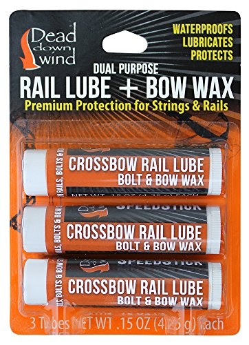 Dead Down Wind Rail Lube/Bow Wax (3pack)