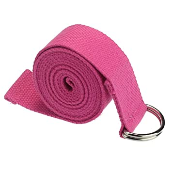 YOOMAT Pilates Yoga Belt Slackline Stretch Band Mat Yoga ...