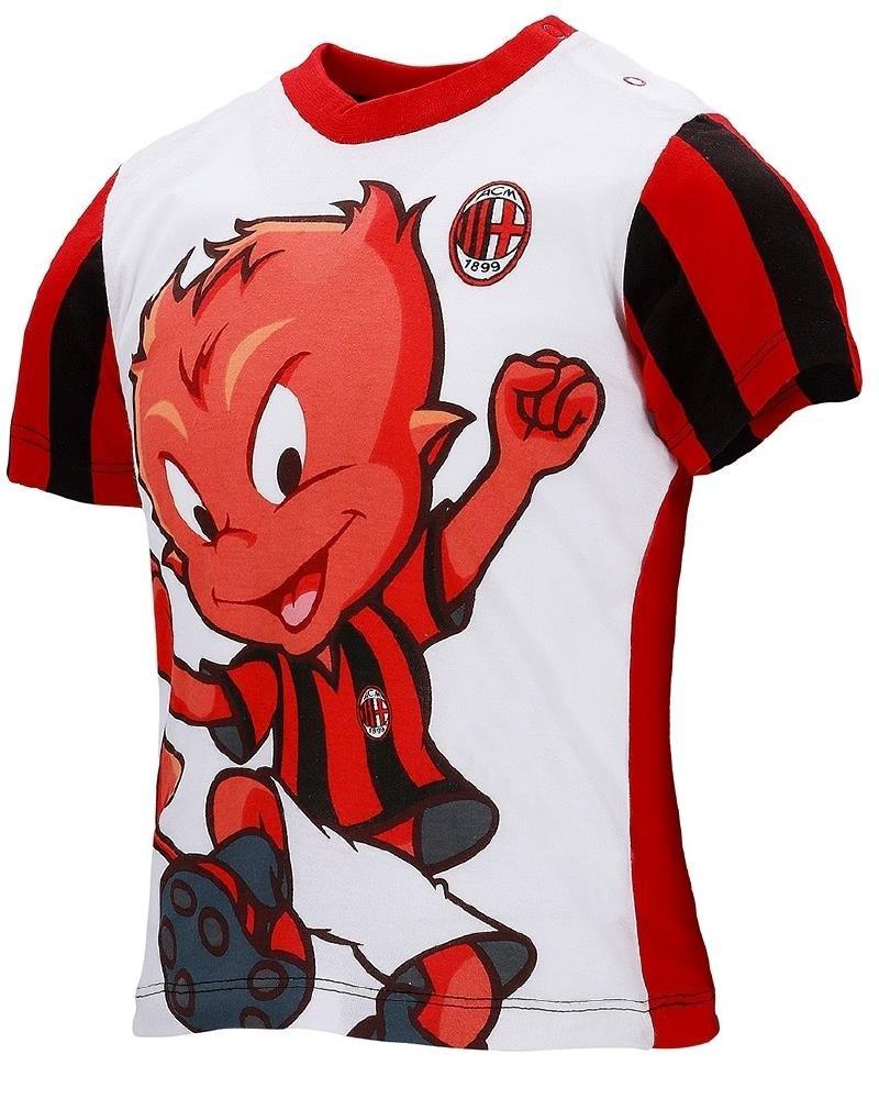 T-Shirt Milan Abbigliamento Ufficiale Calcio Magliette Neonato PS 26727 Arnetta