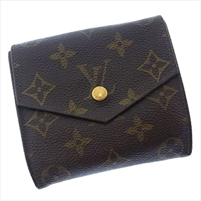 finest selection ce646 870af Amazon | ルイヴィトン Louis Vuitton Wホック財布 二つ折り ...
