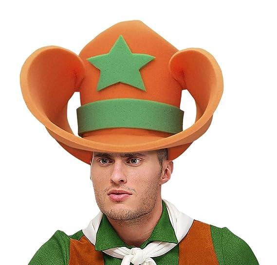 9b861589f Amazon.com: Funky Fresh Extra Large Adult's Cowboy Hat: Clothing
