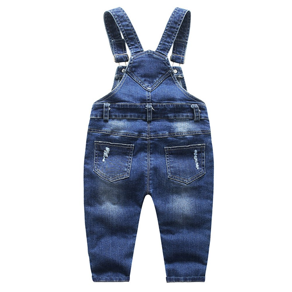 Ding Dong Baby Toddler Boy Girl Denim Overalls(Style 1,5T) by Ding Dong (Image #3)