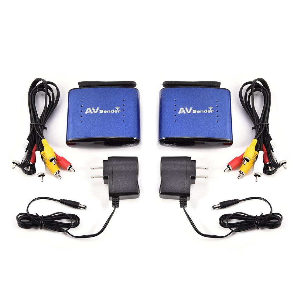 Wireless Signal Transmitter,5.8G Wireless Signal Sender Transmitter Receiver for AV TV STB Audio Video by Estink
