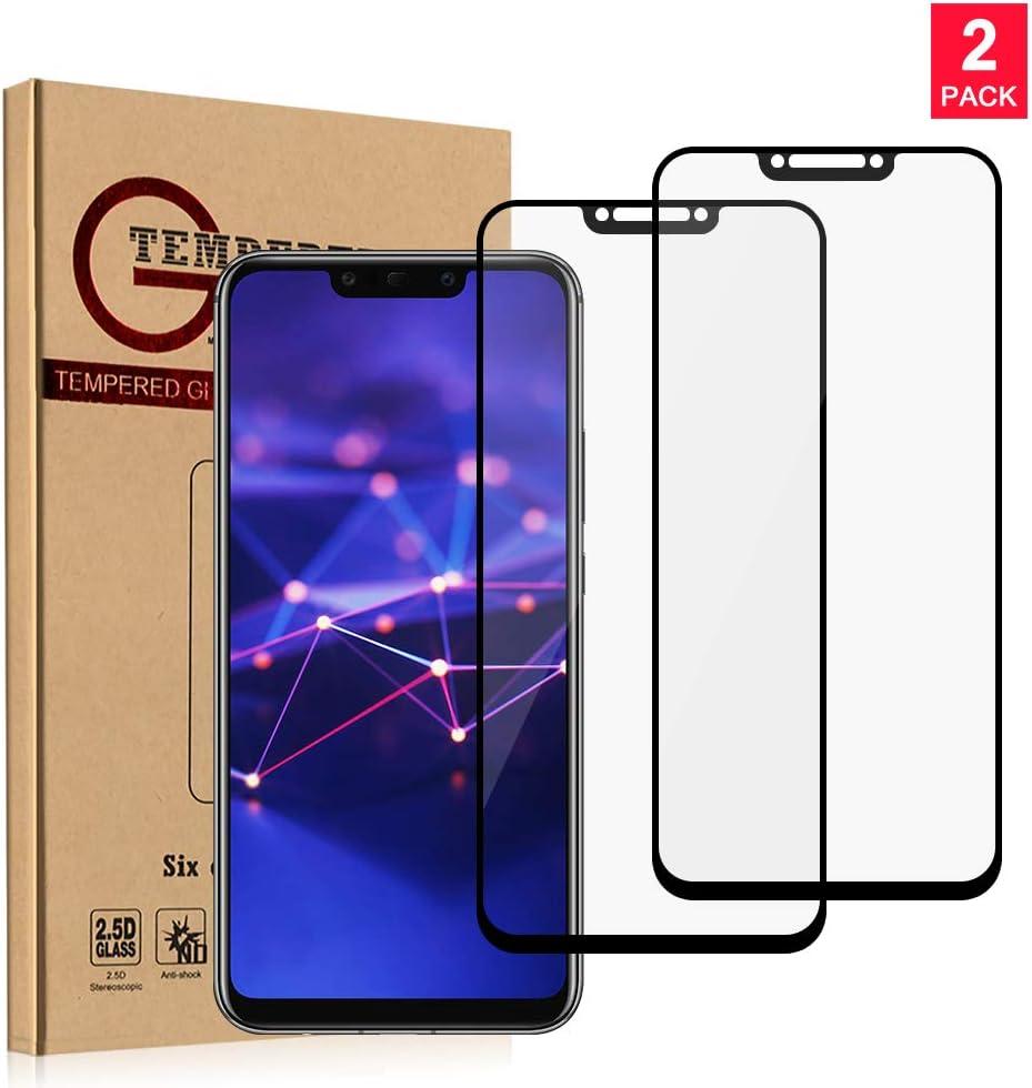 CARPURY [2 Pack] Huawei Mate 20 Lite Protector de Pantalla Cristal ...