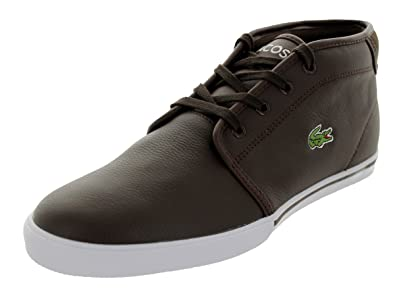 Lacoste Ampthill LCR Men Shoes Dark Brown 7-27SPM1074-DB2 (SIZE: 7.5