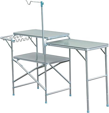 Mesa Extensible para Camping o Cocina, Mesa de Picnic de ...
