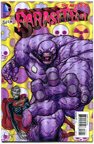 SUPERMAN #23.4, NM, Parasite, 3-D Lenticular cover, more DC in store - Parasite Wood