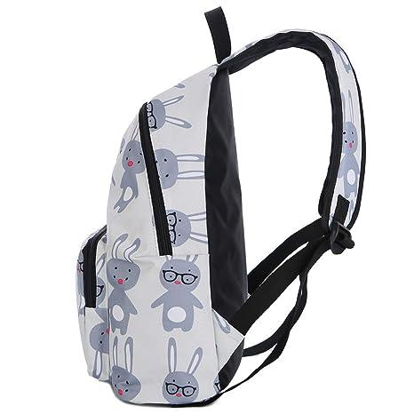 Amazon.com | laptop school bag bolsos unicornio printed backpacks women cute fox teenage bagpack for girlsbackpack 1, | Backpacks