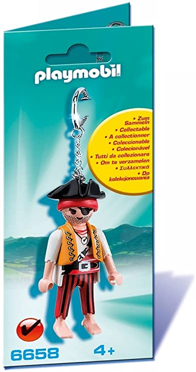 PLAYMOBIL - Llavero Pirata (6658)