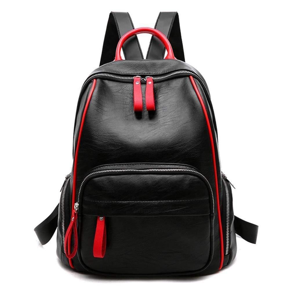 Ambiguity Ladies Backpacks Travel,Zipped Bag Backpack Bag Travel Bag Fashion Handbag 30x17x35cm