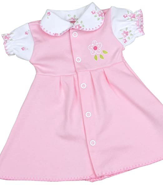 18abad79f Amazon.com  BabyPrem Preemie Early Newborn Baby Dress Pretty Pink ...