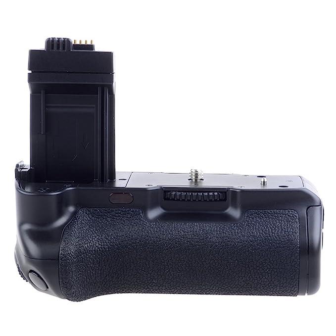 Meike - Agarre Vertical de batería para cámara Canon 450D, 500D, 1000D, XSi, T1i, XS, BG-E5