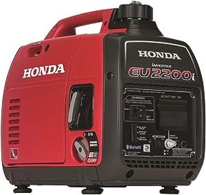 Honda 663520 EU2200i 2,200 Watt Portable Inverter Generator with Co-Minder