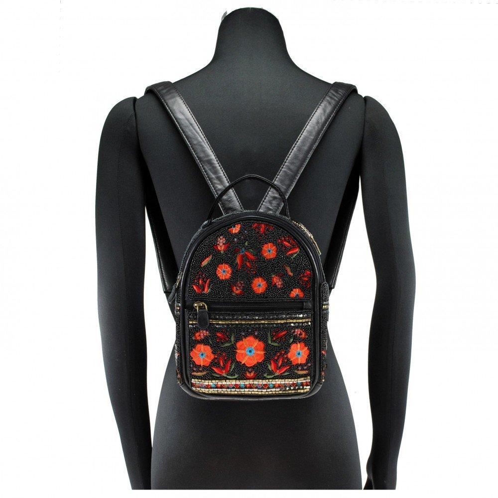 Amazon.com: MARY FRANCES Viva La Noche - Mini mochila ...