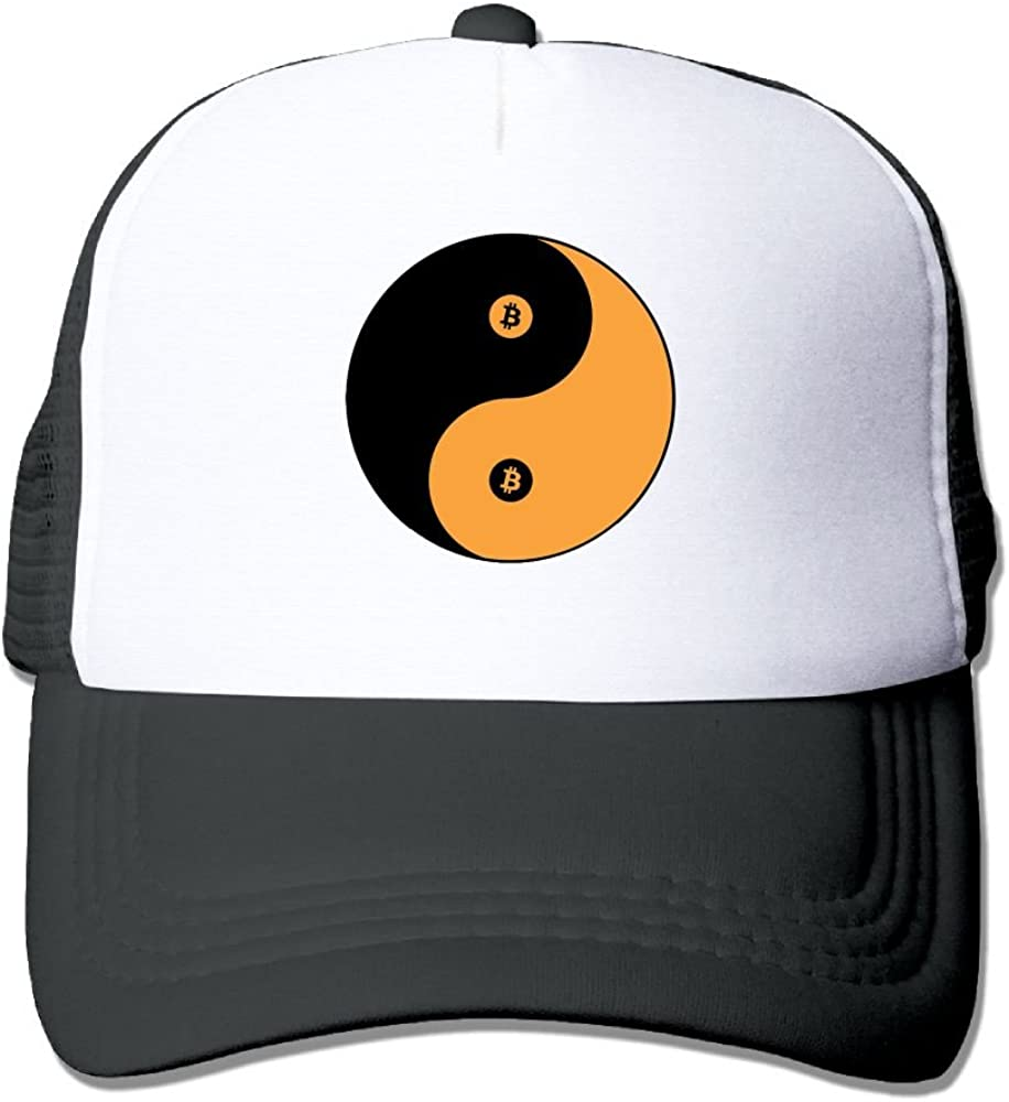FeiTian Bitcoin Sized Baseball Caps For Teen Boys Personalized Great For Activities Climbing Polo Style Hat